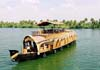 A three bedroom upperdeck luxury houseboat.